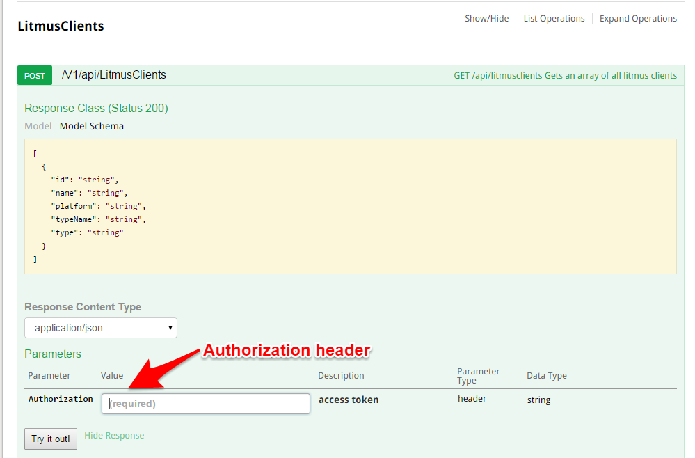 Using access tokens in Swagger with Swashbuckle – The